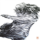 [Bird] Indian Ink on Japanese Paper / 900�~900mm